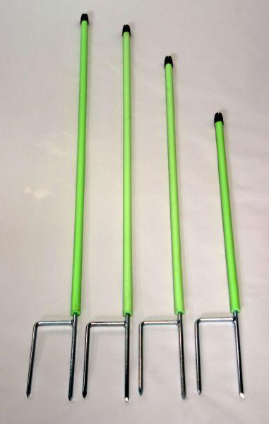 GÖBEL Ersatzpfahl Jumbo 90 cm Ø 19 mm  - Doppelspitze hellgrün