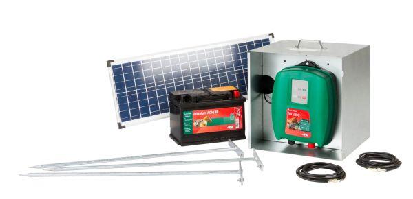 AKO Starterset Mobil Power AN 3100 mit Solarmodul 25 Watt