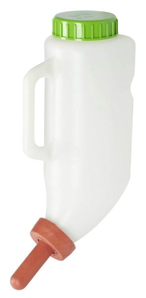 KERBL Milchflasche 2,5 Liter inkl. Milchsauger