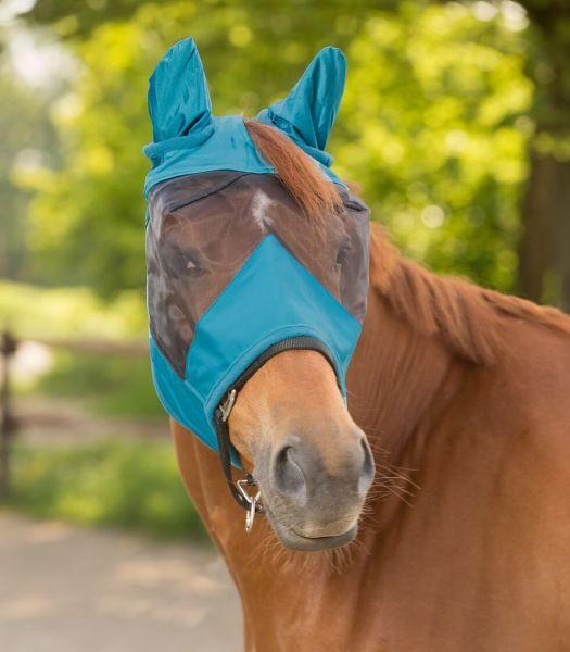 WALDHAUSEN Fliegenmaske Premium mit Ohrenschutz