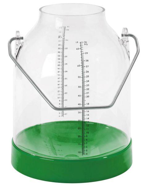 Melkeimer Kunststoff 117 mm Bügelhöhe - 30 Liter