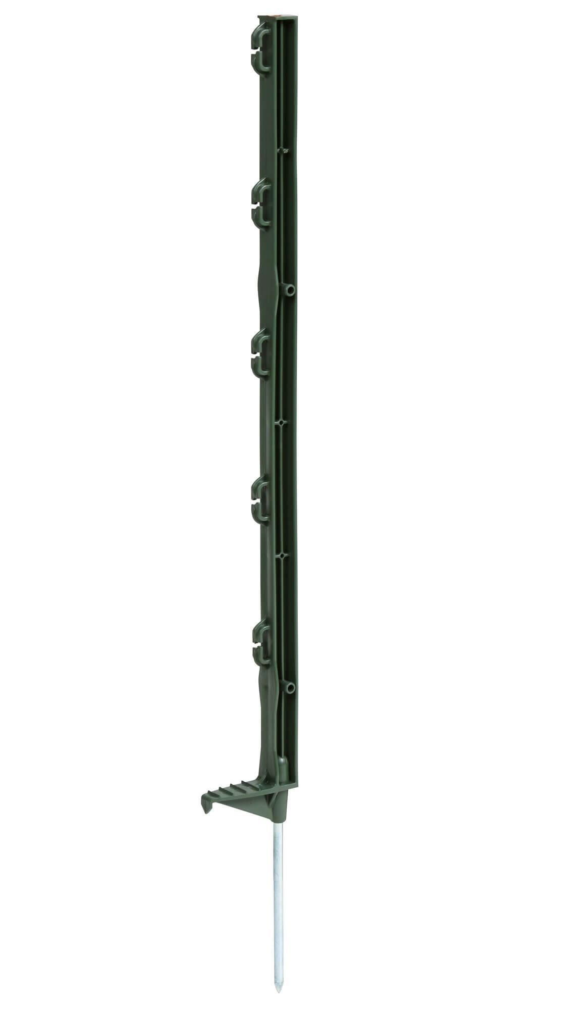 Kunststoffpfahl Eco grün 70 cm - Einzeltritt