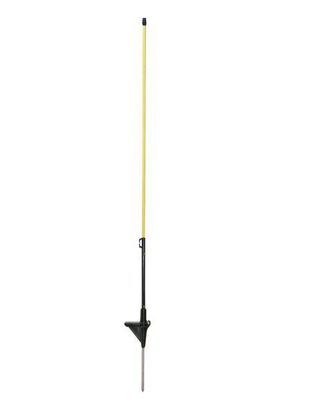 AKO Ersatzpfahl Glasfieber 90 cm - Einzelspitze gelb