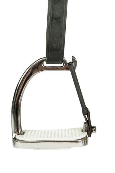HKM Sicherheitssteigbügel aus Edelstahl - 1 Paar