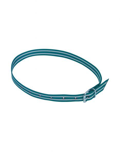Halsmarkierungsband grün/weiß, 135 cm