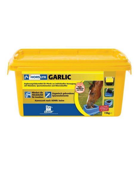 DERBY Horslyx Garlic 15 kg - Schutz vor Insekten
