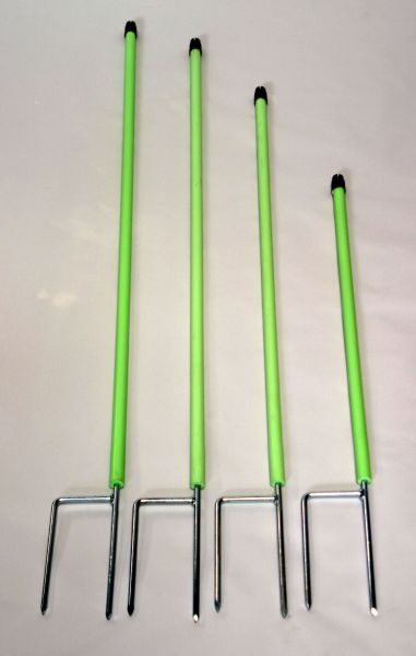GÖBEL Ersatzpfahl 106 cm Ø 13 mm  - Doppelspitze hellgrün