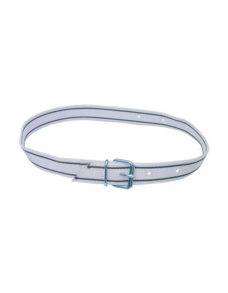 Halsmarkierungsband weiß/schwarz, 135 cm