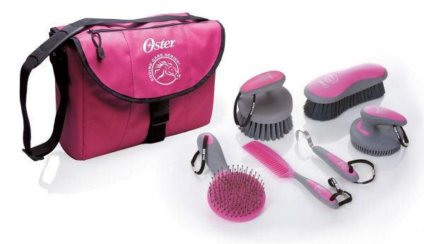OSTER Pferdepflege-Set pink