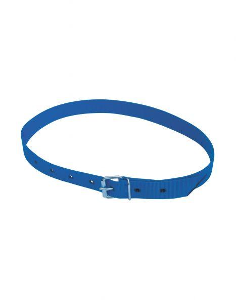 Halsmarkierungsband blau, 135 cm