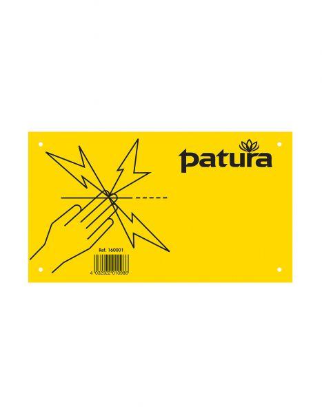 "PATURA Warnschild - ""Elektrozaun"" - Kunststoff"