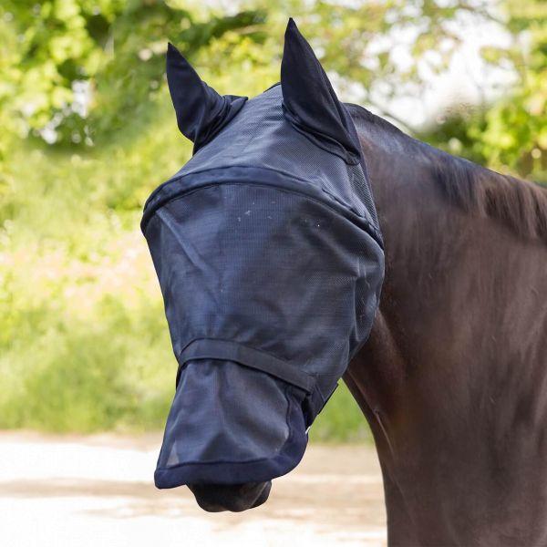 WALDHAUSEN Fliegenmaske Premium Space mit Ohren- und Nasenschutz
