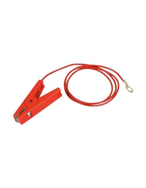 PATURA Zaunanschlusskabel - mit 8 mm Ringöse, rot