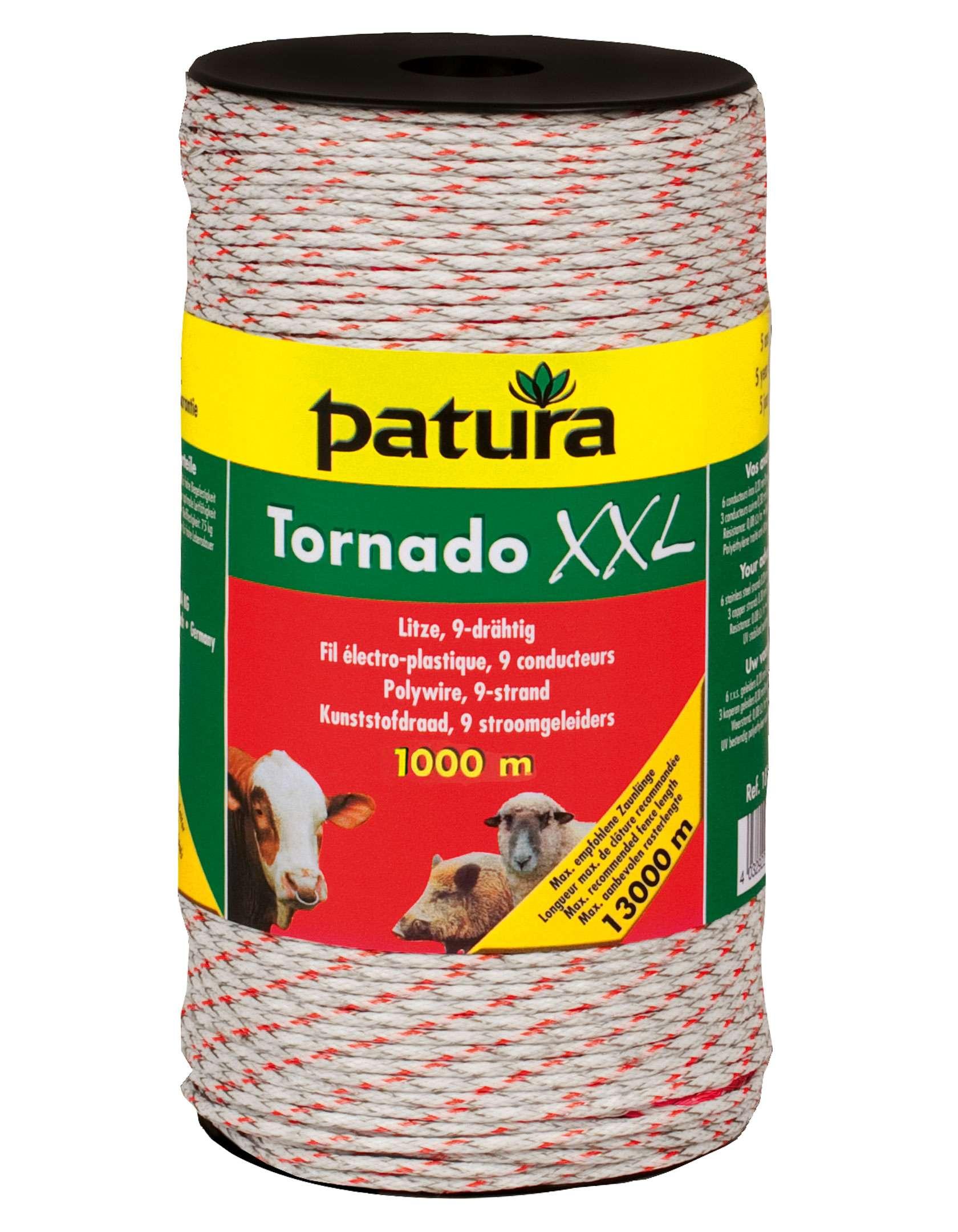 PATURA Tornado XXL Litze - 1000 m