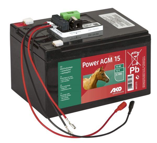 AKO Power AGM 15 Ah Komplettset