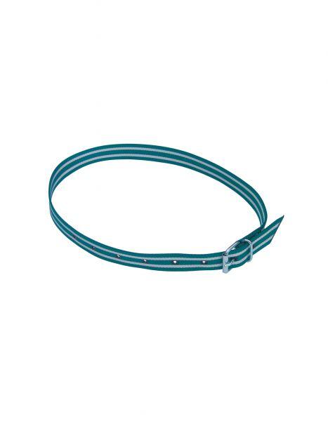 Halsmarkierungsband grün/weiß, 120 cm
