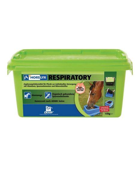 DERBY Horslyx Respiratory 15 kg - bei Atemwegsproblemen