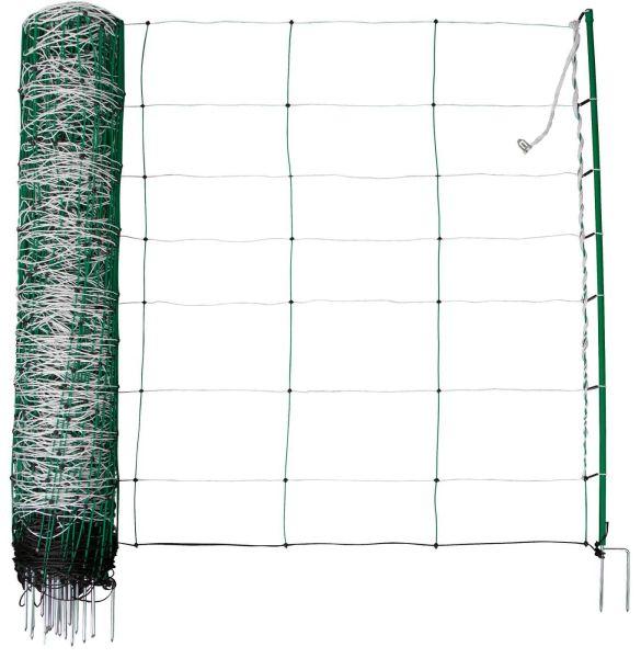 TopLine Plus Net Schafnetz Doppelspitze 90 cm - 50 m grün