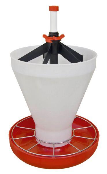 KERBL Ferkelschale Maxi Hopper Pan - montiert
