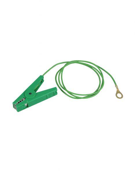 PATURA Erdanschlusskabel - mit 8 mm Ringöse, grün