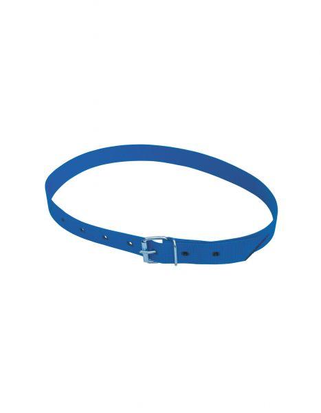 Halsmarkierungsband blau, 120 cm