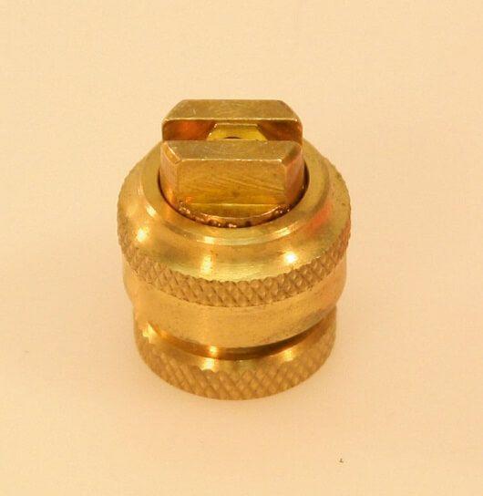 Flachstrahldüse mit Einsatz 0,2 mm, 0,3 mm und 0,4 mm
