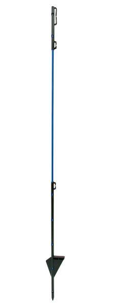 AKO Ersatzpfahl Glasfieber 90 cm - Einzelspitze blau