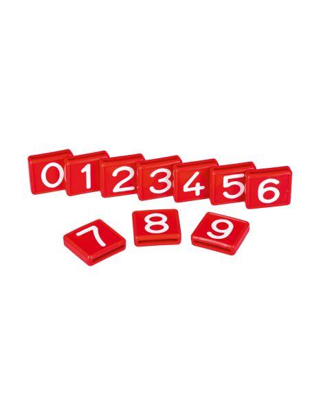 KERBL Nummernblock rot