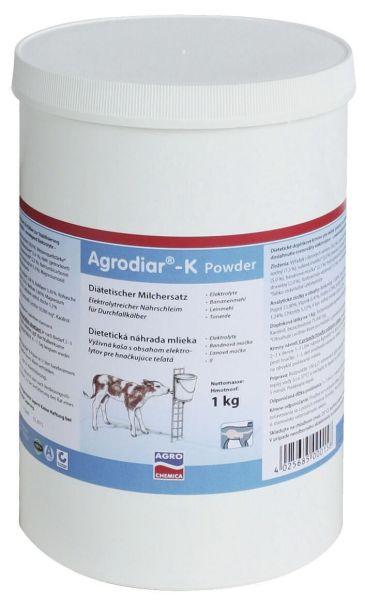Agrodiar®-K Powder 1 kg - Darm- und Pansenregulanz